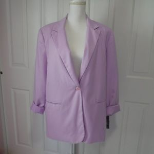 Requirements Blazer Orchid Size 16 Lined